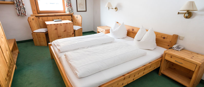 Hotel Post, Alpebach, Austria - double bedroom interior.jpg